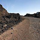 Strasse bei dem Pico Pequeno